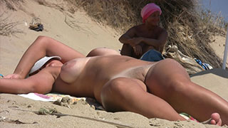 big boobs nudist amateur milf beach