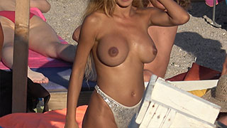 foxy amateur big boobs spy beach video