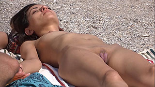 pink pussy big lips voyeur beach video